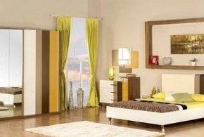 Спальня spa39310 по индивидуальным размерам на заказ, материалы из лдсп мдф расцветка — разноцвет бежевый белый в интернет магазине mebelblok.ru
