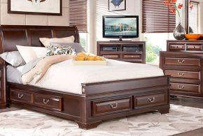 Спальня spa53053 по индивидуальным размерам на заказ, материалы из массива дерева лдсп мдф расцветка — коричневый в интернет магазине mebelblok.ru