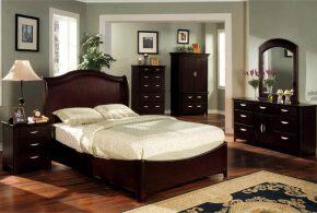 Спальня spa52700 по индивидуальным размерам на заказ, материалы из лдсп мдф расцветка — коричневый в интернет магазине mebelblok.ru