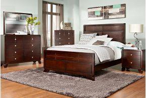 Спальня spa59074 по индивидуальным размерам на заказ, материалы из массива дерева лдсп мдф расцветка — коричневый в интернет магазине mebelblok.ru