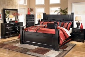 Спальня spa25219 по индивидуальным размерам на заказ, материалы из массива дерева лдсп мдф расцветка — черный в интернет магазине mebelblok.ru