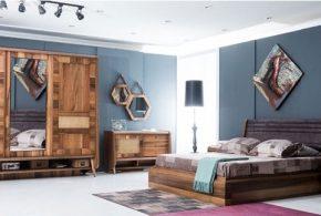 Спальня spa19230 по индивидуальным размерам на заказ, материалы из массива дерева лдсп мдф расцветка — коричневый в интернет магазине mebelblok.ru