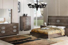 Спальня spa59129 по индивидуальным размерам на заказ, материалы из массива дерева лдсп мдф расцветка — коричневый в интернет магазине mebelblok.ru
