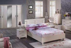 Спальня spa58344 по индивидуальным размерам на заказ, материалы из лдсп мдф расцветка — белый в интернет магазине mebelblok.ru
