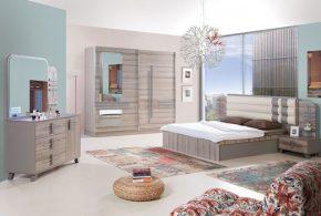 Спальня spa20492 по индивидуальным размерам на заказ, материалы из лдсп мдф расцветка — коричневый в интернет магазине mebelblok.ru