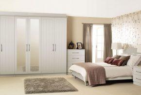 Спальня spa19575 по индивидуальным размерам на заказ, материалы из лдсп мдф расцветка — белый в интернет магазине mebelblok.ru
