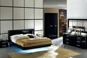 Спальня spa20853 по индивидуальным размерам на заказ, материалы из лдсп мдф эмали расцветка — черный в интернет магазине mebelblok.ru