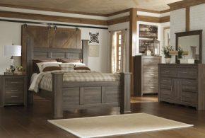 Спальня spa52700 по индивидуальным размерам на заказ, материалы из массива дерева лдсп мдф расцветка — серый в интернет магазине mebelblok.ru