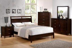 Спальня spa35385 по индивидуальным размерам на заказ, материалы из массива дерева лдсп мдф расцветка — коричневый в интернет магазине mebelblok.ru
