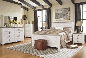 Спальня spa95404 по индивидуальным размерам на заказ, материалы из лдсп мдф расцветка — коричневый белый в интернет магазине mebelblok.ru