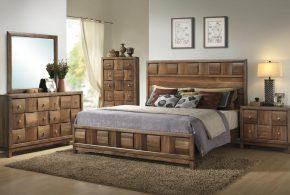 Спальня spa59920 по индивидуальным размерам на заказ, материалы из массива дерева лдсп мдф расцветка — коричневый в интернет магазине mebelblok.ru