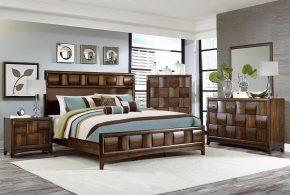 Спальня spa34667 по индивидуальным размерам на заказ, материалы из массива дерева лдсп мдф расцветка — коричневый в интернет магазине mebelblok.ru