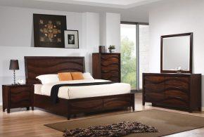 Спальня spa11191 по индивидуальным размерам на заказ, материалы из массива дерева лдсп мдф расцветка — коричневый в интернет магазине mebelblok.ru