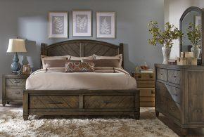 Спальня spa47289 по индивидуальным размерам на заказ, материалы из массива дерева лдсп мдф расцветка — серый в интернет магазине mebelblok.ru